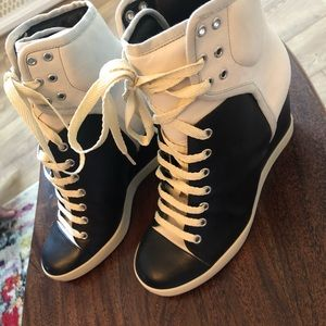 See By Chloe Wedge Sneakers Size 40 EURO 9.5-10US